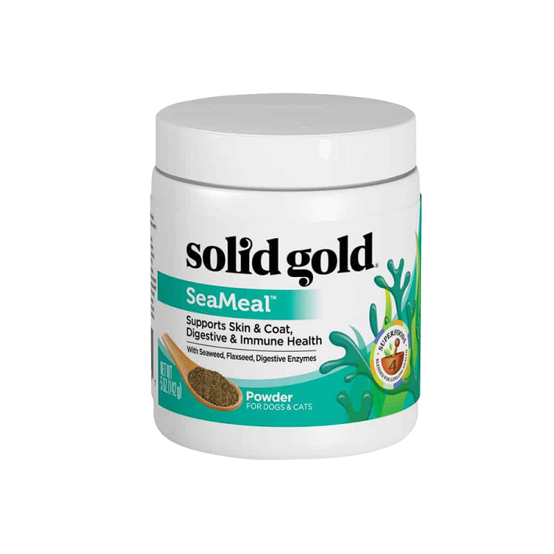 Solid Gold SeaMeal For Skin & Coat, Digestive & Immune Health Power In Dogs & Cats 142g
