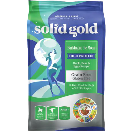 Solid Gold Barking At The Moon With Duck, Peas & Eggs Recipe Dog Dry Food 22lb
