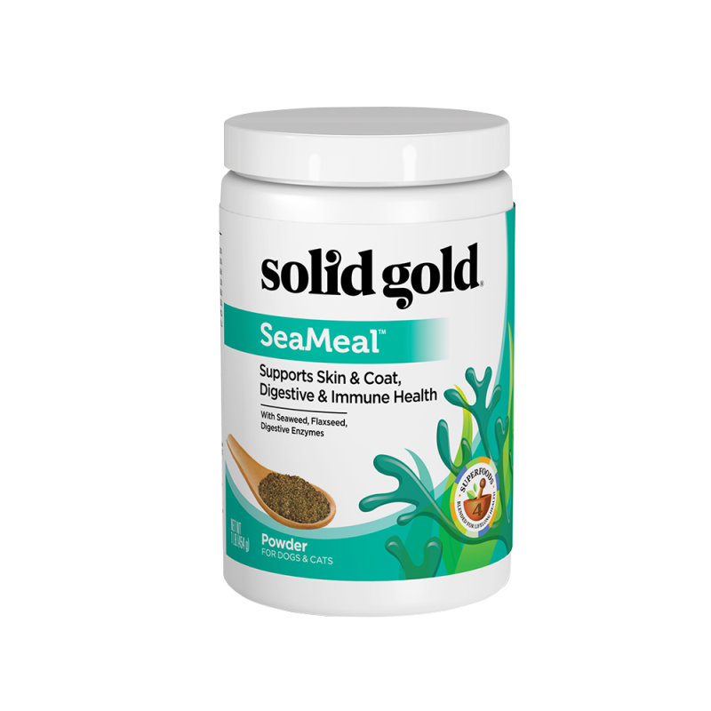 Solid Gold SeaMeal For Skin & Coat, Digestive & Immune Health Power In Dogs & Cats 454g