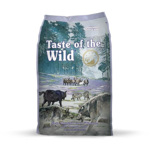 Taste Of The Wild Dog Sierra Mountain With Roasted Lamb Dog Dry Food 13kg