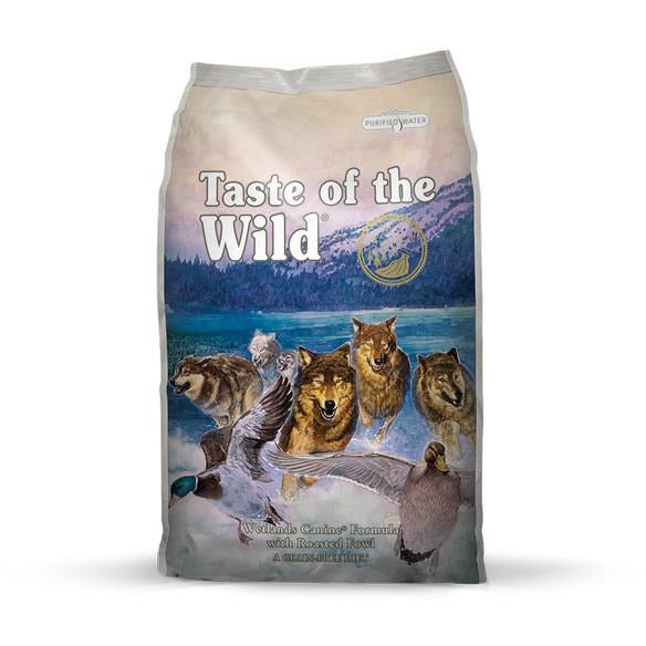 Taste Of The Wild Dog Wetlands With Roasted Fowl Dog Dry Food 13kg