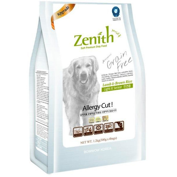 Zenith Light & Senior (Soft Kibble) Dog Dry Food 1.2kg