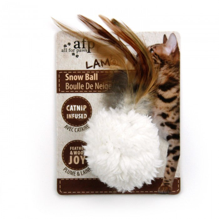 AFP Snow Ball with Catnip Infused
