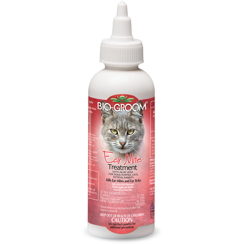 Bio-Groom Ear Mite Treatment For Cats 118ml