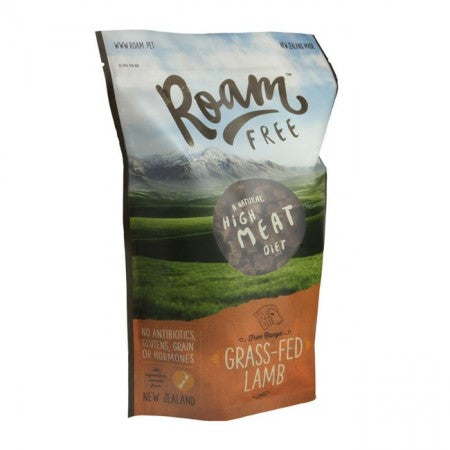 Roam Free Grass-Fed Lamb Dog Food 500g