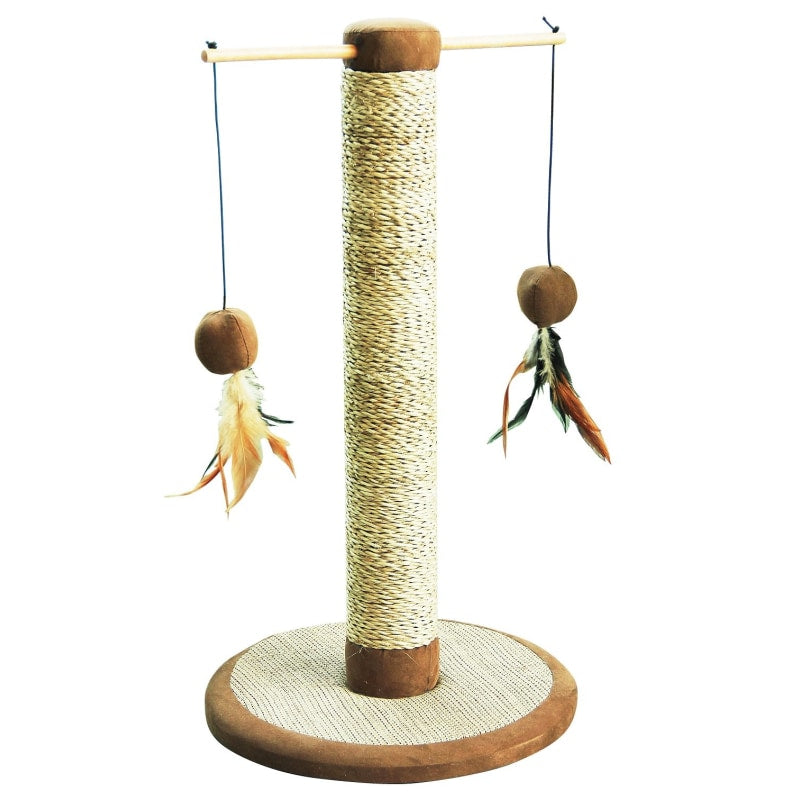 Pawise Cat Post Cat Play Pen Scratching Pole