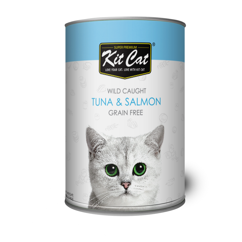 Kit Cat Wild Caught Tuna & Salmon 400g
