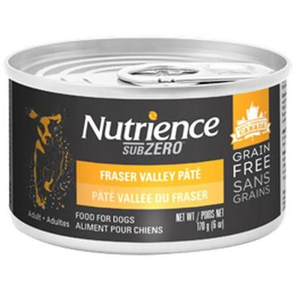 Nutrience Fraser Valley Pate Fraser Valley Dog Canned Food 170g