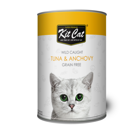 Kit Cat Wild Caught Tuna & Anchovy 400g