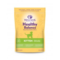 Wellness Cat Healthy Balance Kitten Chicken Meal & Peas Recipe 5Lb