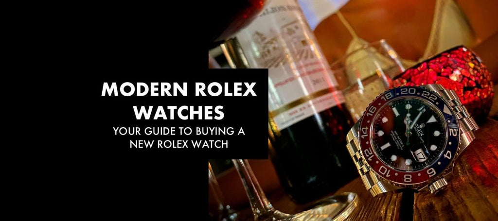 MODERN ROLEX WATCHES: Your Guide to Buying a New Rolex Watch | Swiss Watch Trader