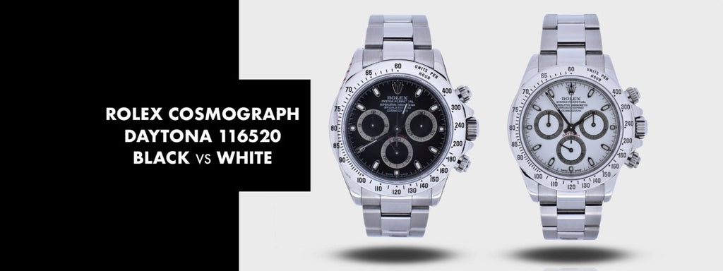 ROLEX COSMOGRAPH DAYTONA 116520: White Dial vs Black Dial | Swiss Watch Trader
