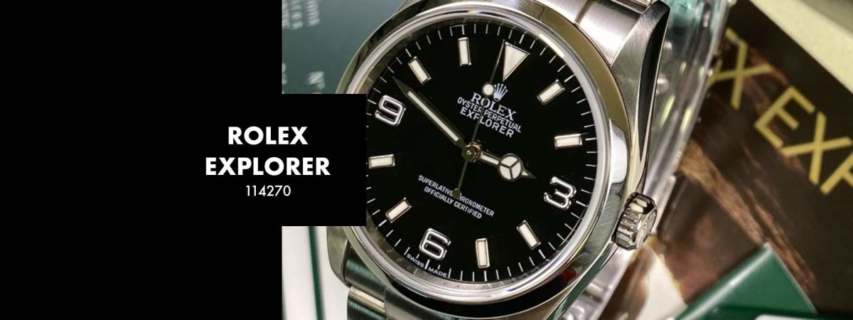 ROLEX EXPLORER 114270 36MM: Our 5 Minute Review | Swiss Watch Trader
