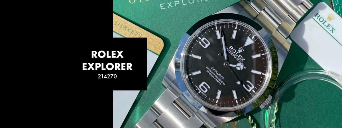 ROLEX EXPLORER 214270 39MM: Our 5 Minute Review | Swiss Watch Trader