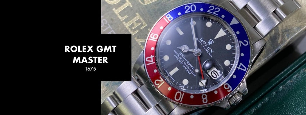 ROLEX GMT MASTER 1675: Our 5 Minute Review | Swiss Watch Trader