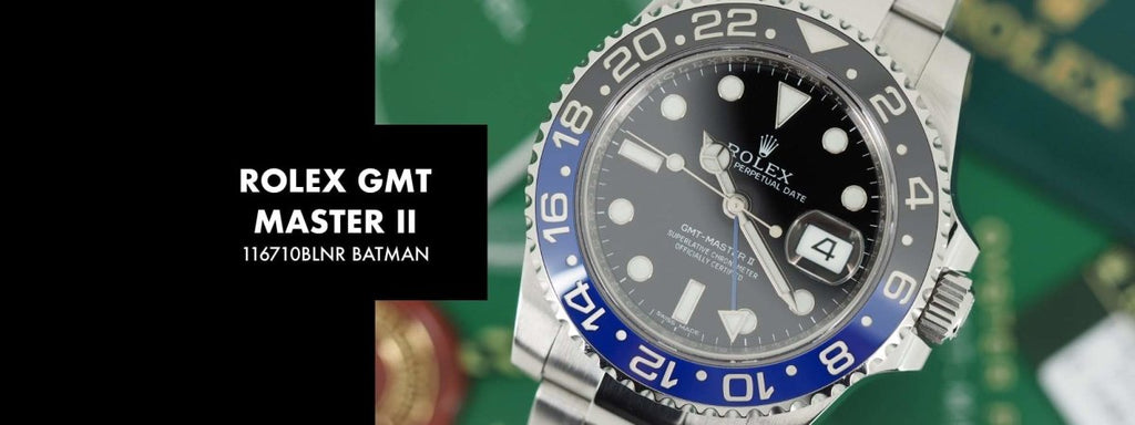 Rolex GMT Master II 116710BLNR BATMAN: Our 5 Minute Review | Swiss Watch Trader