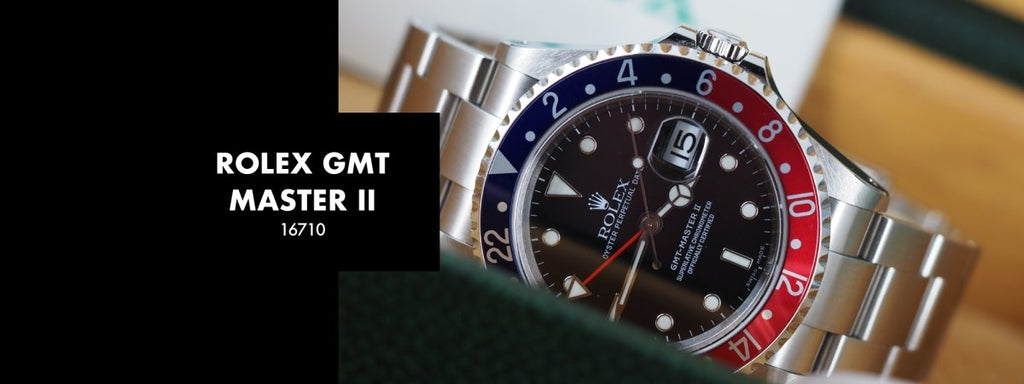 ROLEX GMT MASTER II 16710: Our 5 Minute Review | Swiss Watch Trader