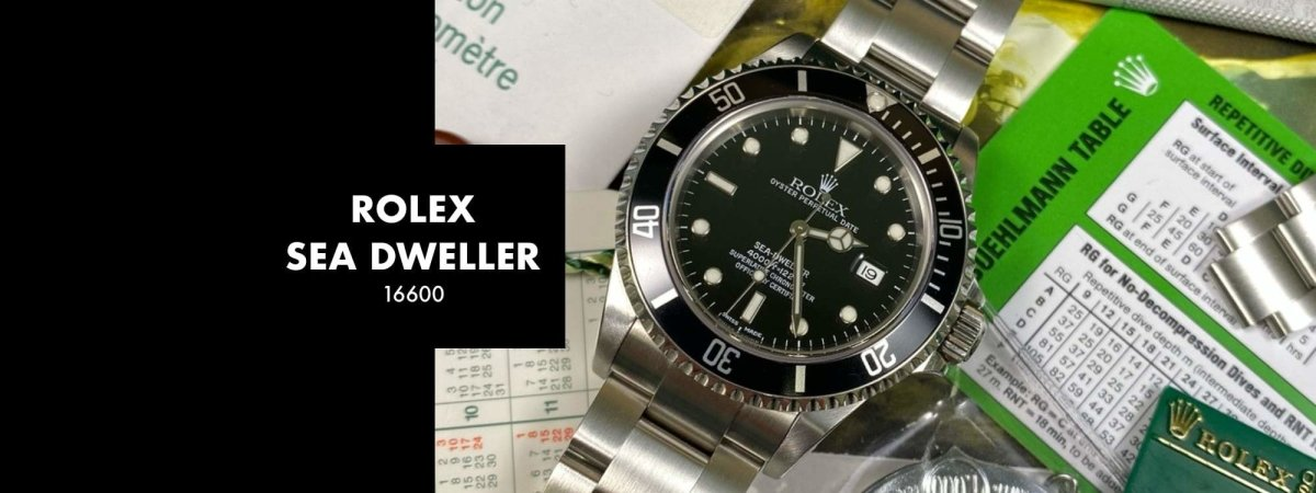 ROLEX SEA DWELLER 16600: Our 5 Minute Review | Swiss Watch Trader