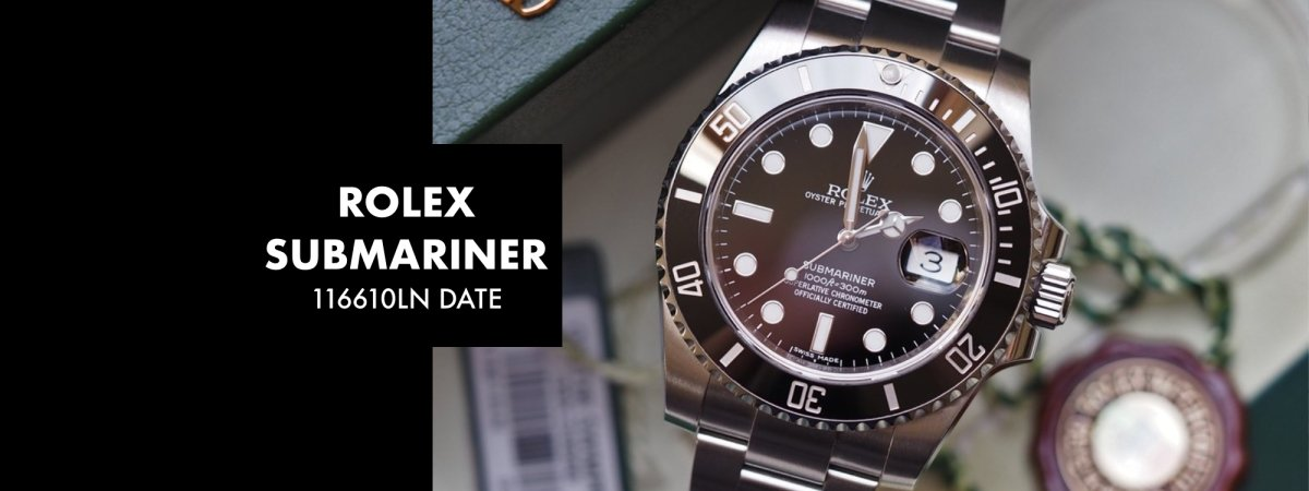 ROLEX SUBMARINER 116610LN DATE: Our 5 Minute Review | Swiss Watch Trader