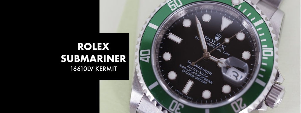 ROLEX SUBMARINER 16610LV KERMIT: Our 5 Minute Review | Swiss Watch Trader