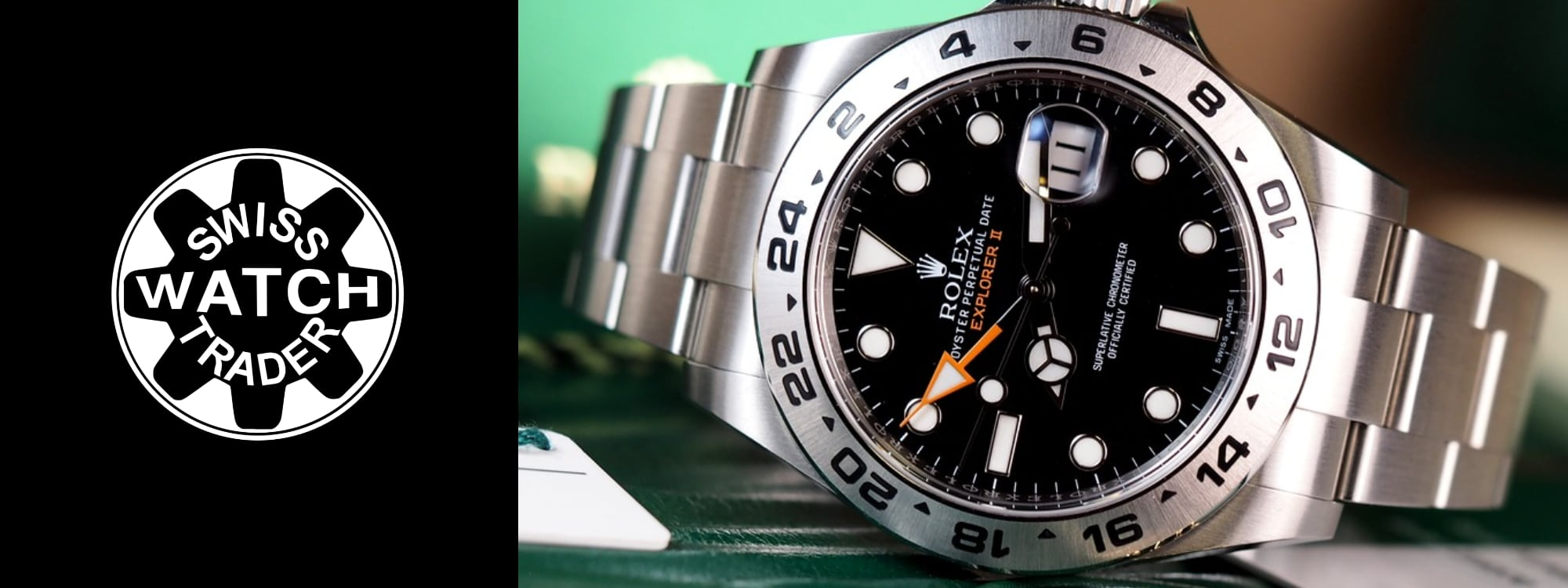 Rolex Explorer II 16570 and 216570 Watches For Sale