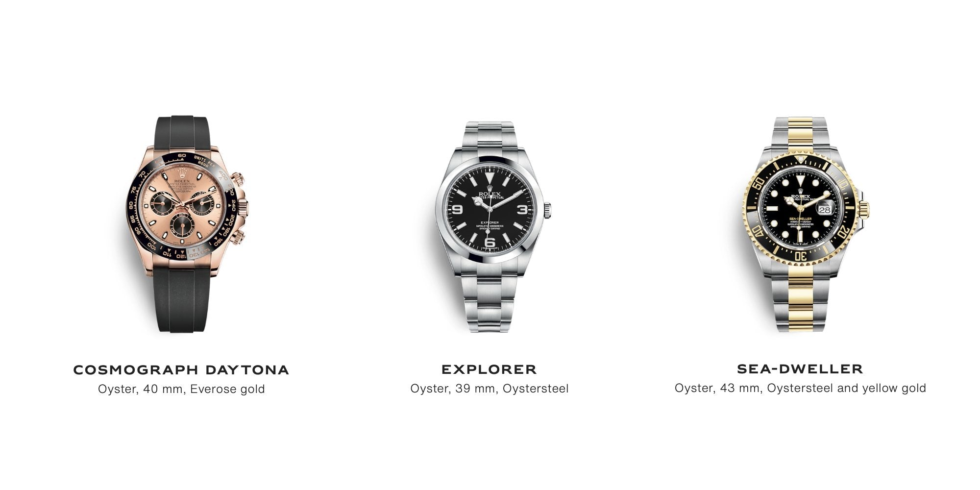 Modern Rolex Watches