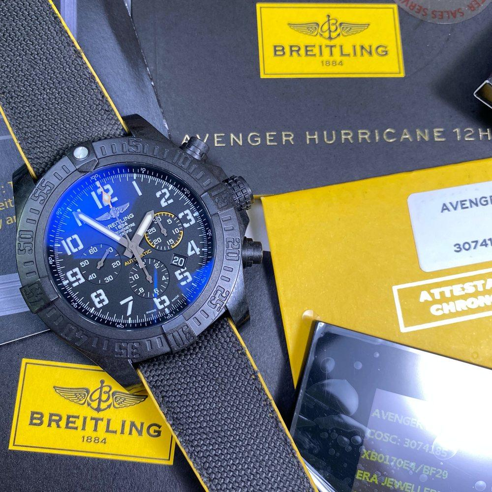 Breitling Avenger Hurricane Breitlight 12HR XB0170E4/BF29 - Swiss Watch Trader