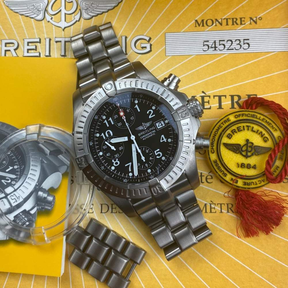 Breitling Chrono Avenger E13360 - Swiss Watch Trader