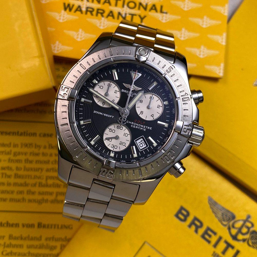 Breitling Chrono Colt A73380 - Swiss Watch Trader