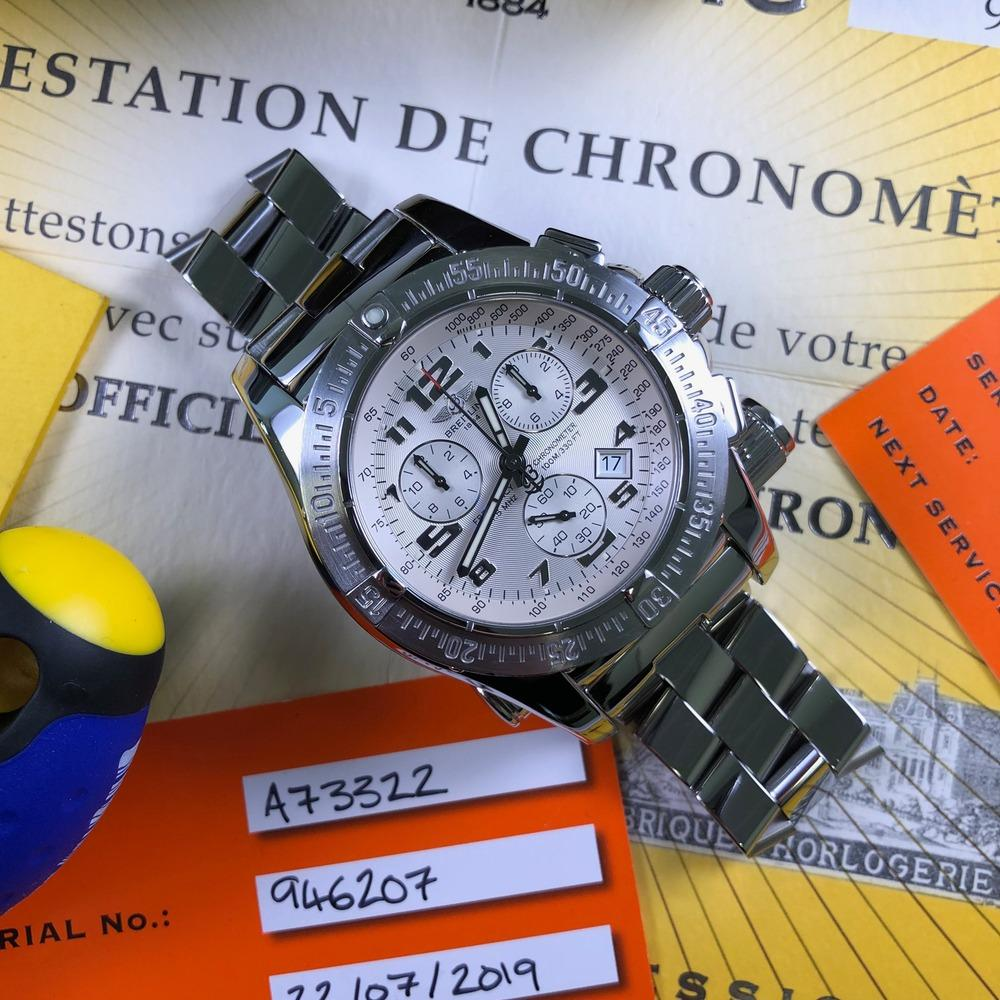 Breitling Emergency Mission A73322 - Swiss Watch Trader