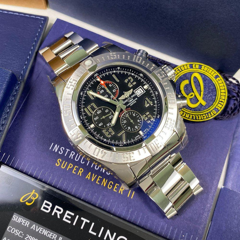 Breitling Super Avenger II A13371 - Swiss Watch Trader