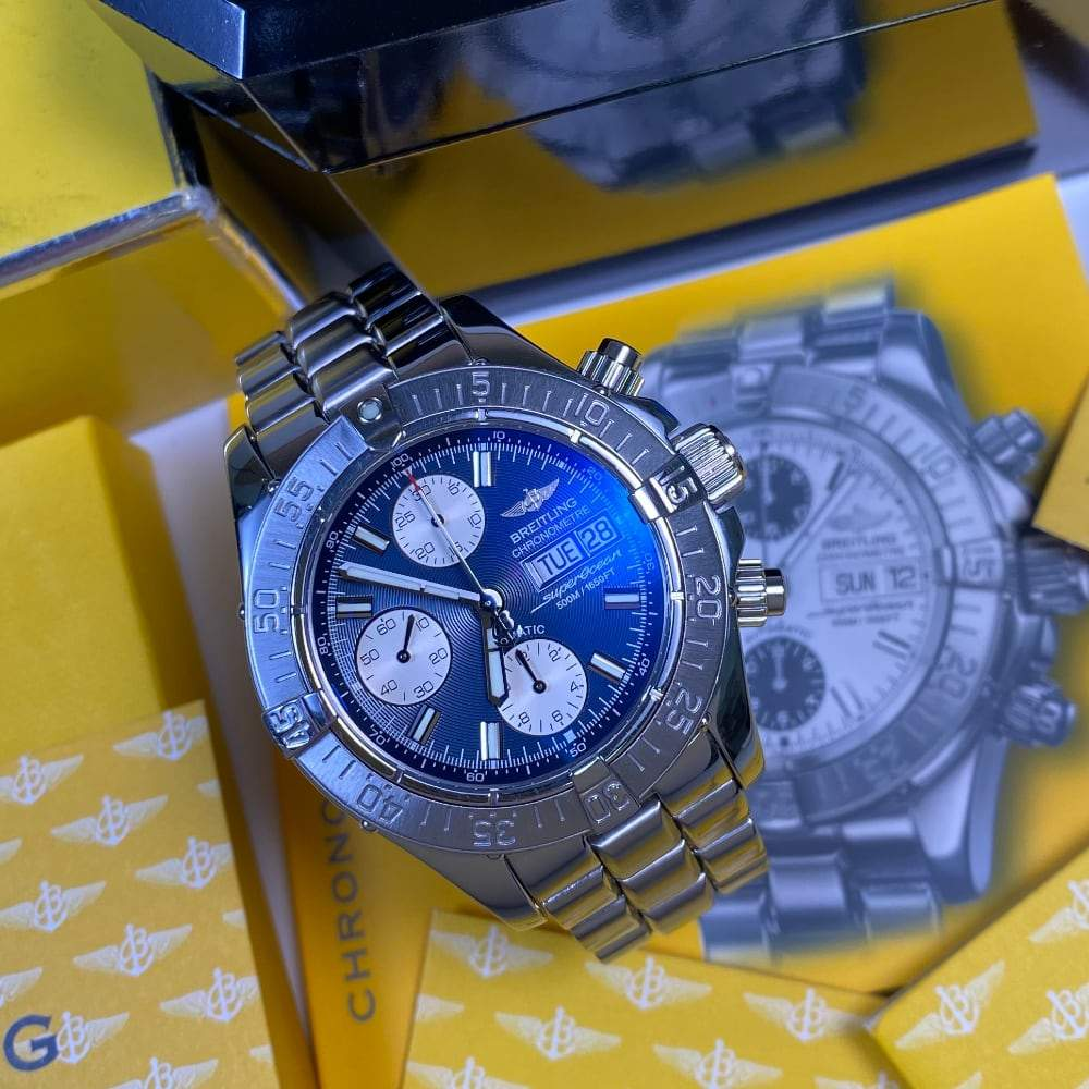 Breitling Superocean Chronograph A13340 - Swiss Watch Trader