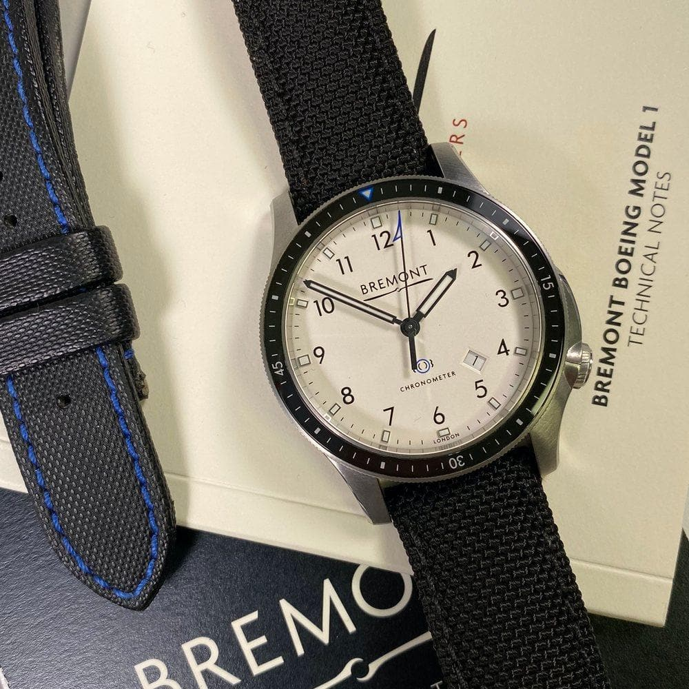 Bremont Boeing Model 1 BB1-SS/WH/R