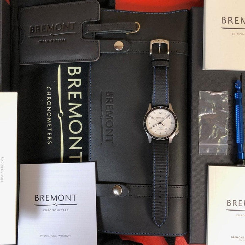 Bremont Boeing Model 1 BB1-SS/WH/R - Swiss Watch Trader