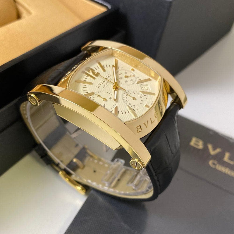 Bvlgari Assioma Chronograph AA48GCH (18k Gold) - Swiss Watch Trader
