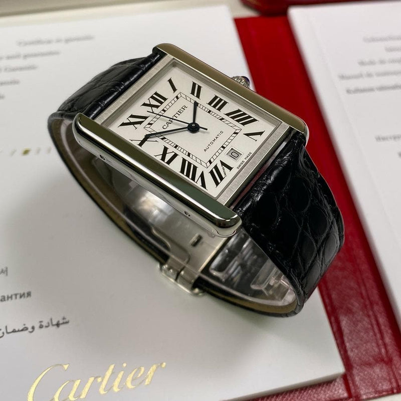 Cartier Tank Solo XL WSTA0029 - Swiss Watch Trader