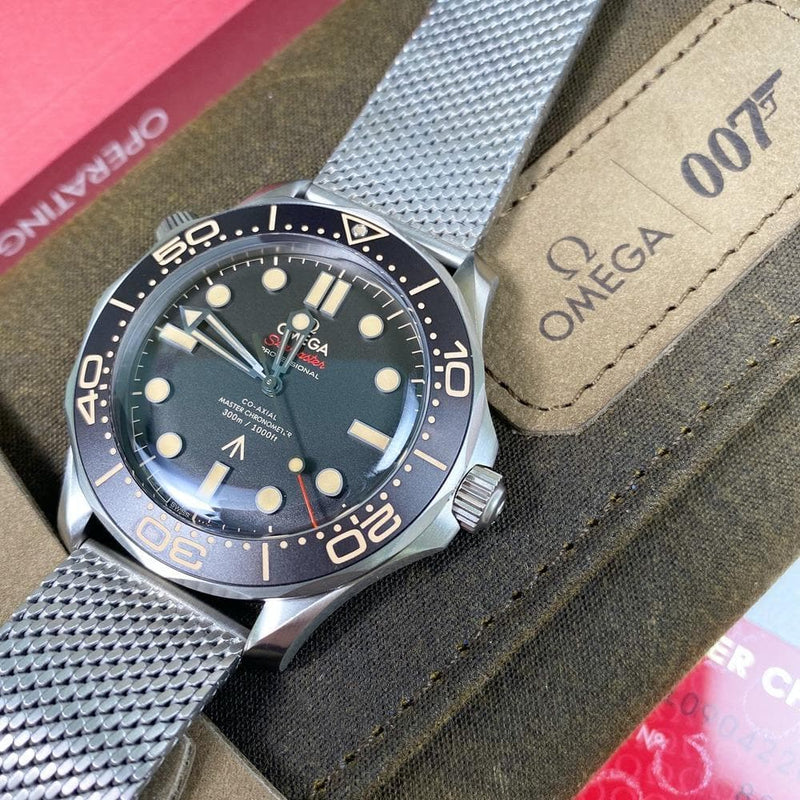 "Omega Seamaster 007 Edition ""No Time to Die"""