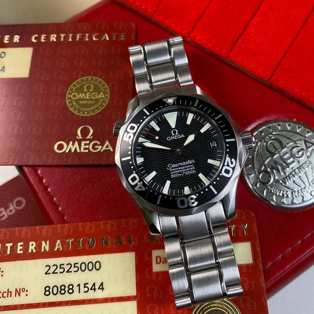 Omega Seamaster 300 Mid Size 22525000 - Swiss Watch Trader