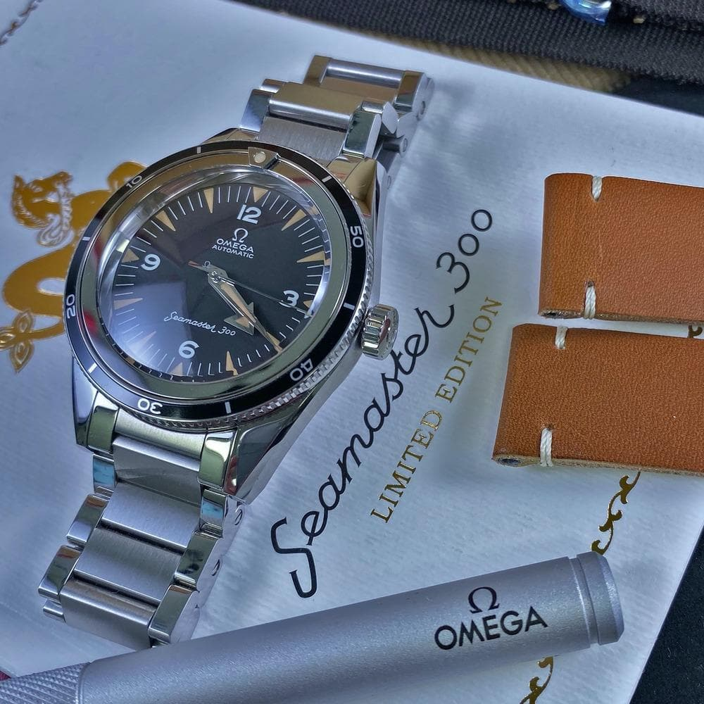 Omega Seamaster 300 - The 1957 Trilogy - Swiss Watch Trader