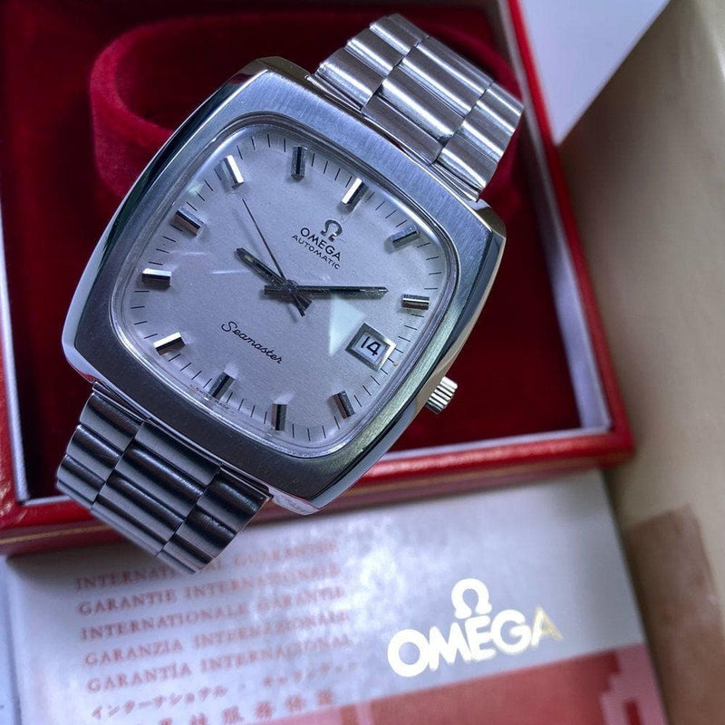 Omega Seamaster Big Square 166.0138 (1972) - Swiss Watch Trader