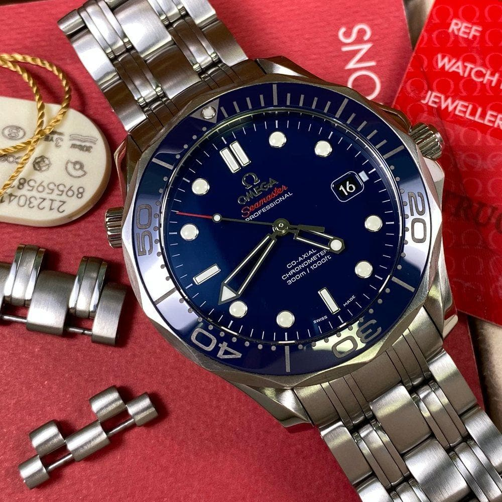 Omega Seamaster Diver 300 212.30.41.20.03.001 (2018) - Swiss Watch Trader