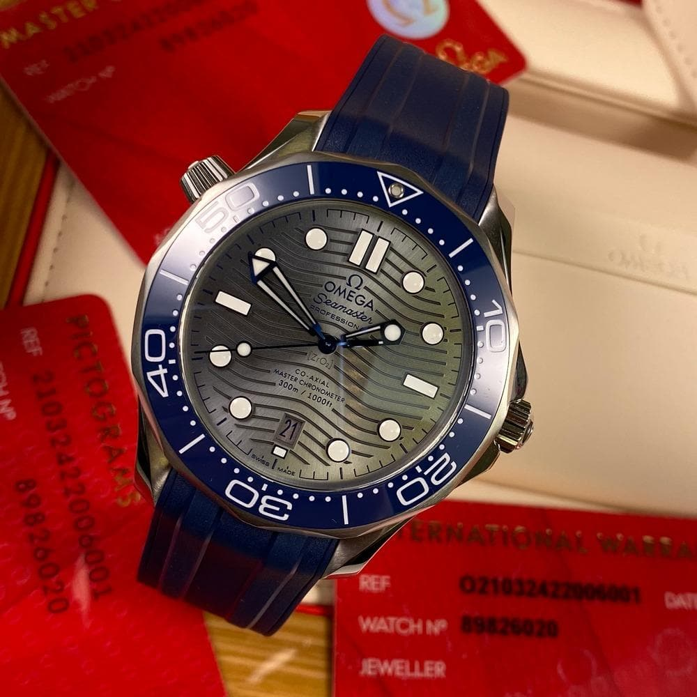 Omega Seamaster Diver 300 Master Chronometer 21032422006001 - Swiss Watch Trader