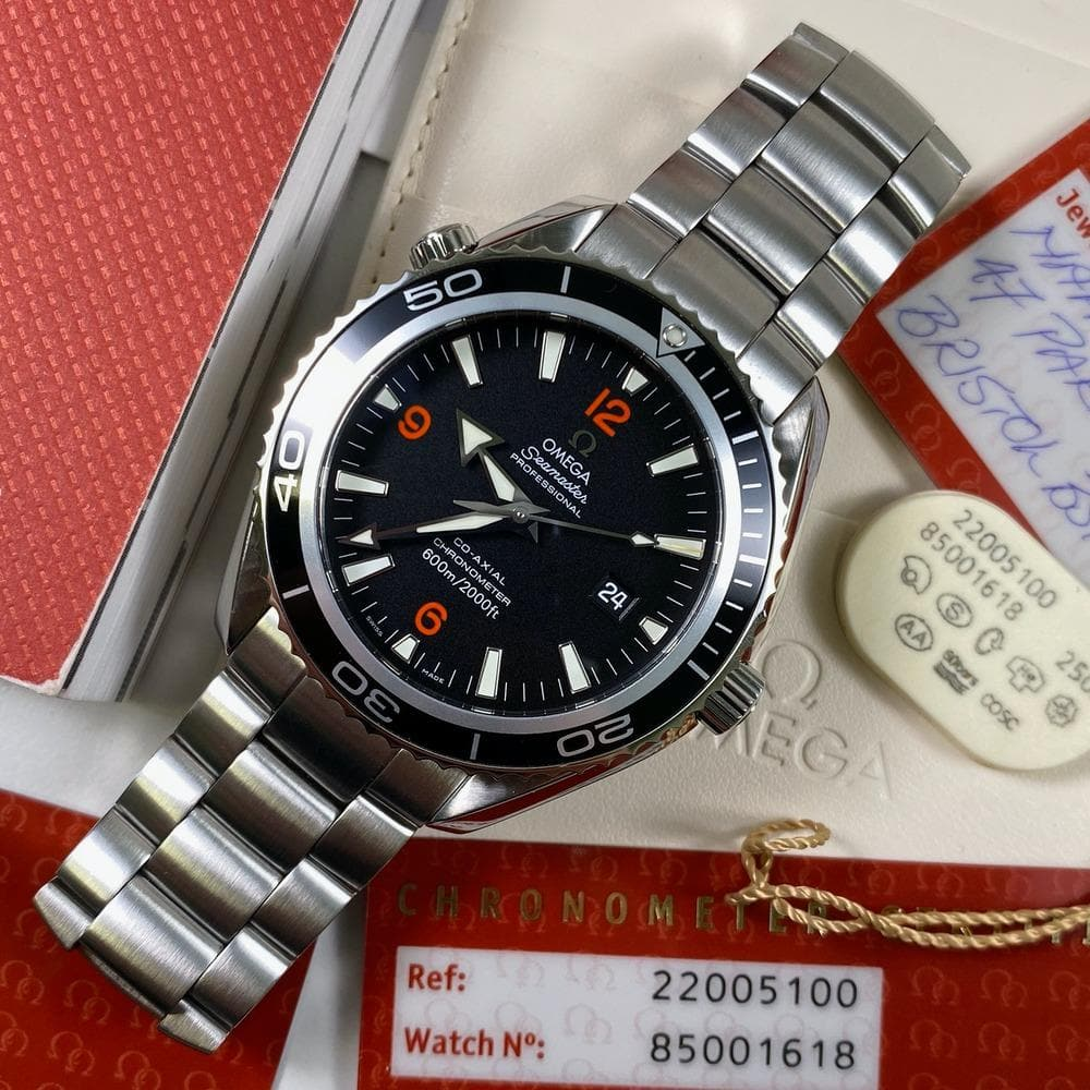 Omega Seamaster Planet Ocean 22005100 2500XL - Swiss Watch Trader