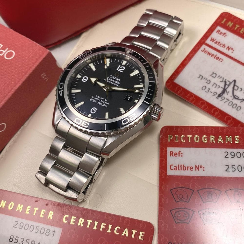 Omega Seamaster Planet Ocean 29005081 2500 XL - Swiss Watch Trader