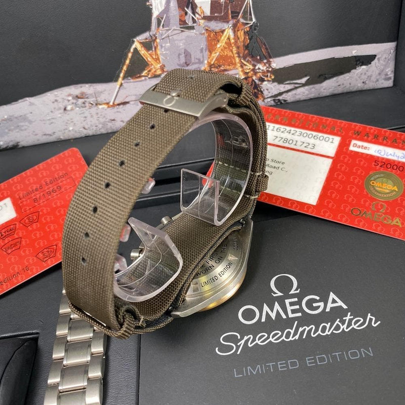 Omega Speedmaster Apollo 11 45th Anniversary - Swiss Watch Trader