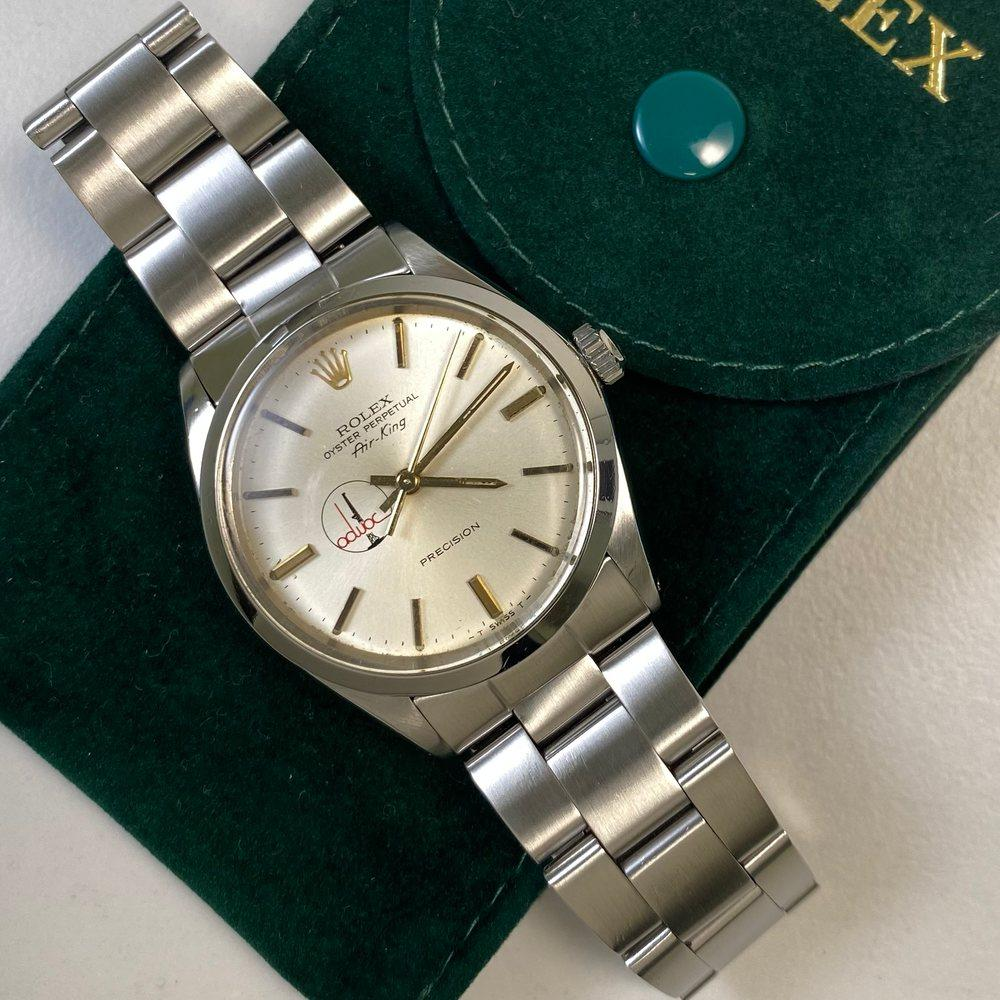 Rolex Air-King 5500 34mm • ADWOC Dial • (1983) - Swiss Watch Trader