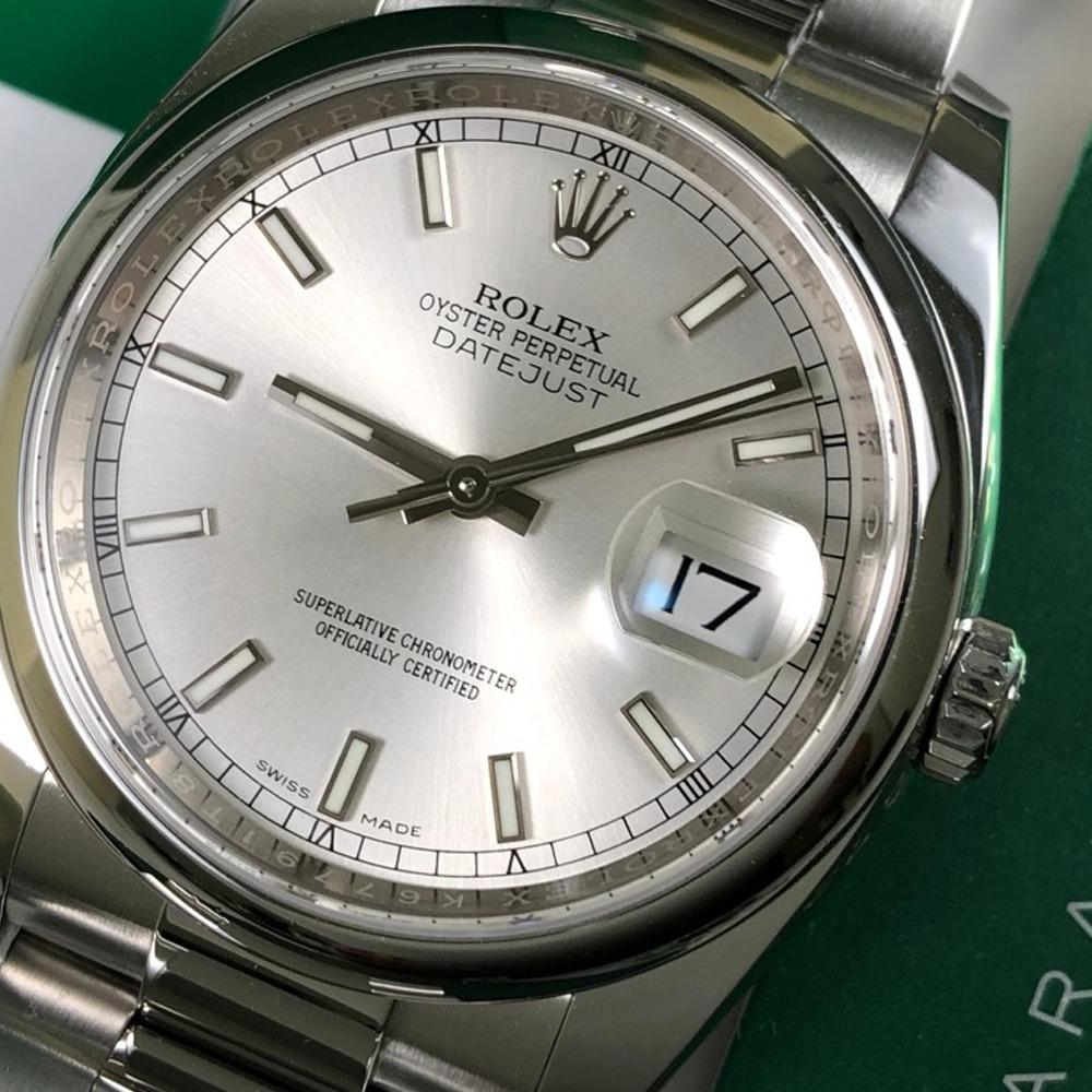 Rolex Date-Just 36 116200 - Swiss Watch Trader