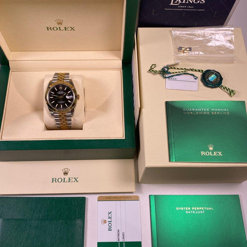 Rolex Datejust 41 126303 •UNWORN• (2019) - Swiss Watch Trader