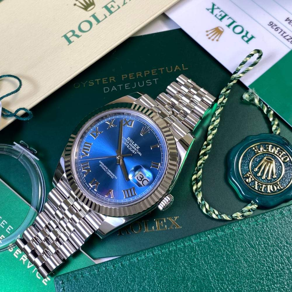 Rolex Datejust 41 - 126334 - Blue Dial (2019) - Swiss Watch Trader