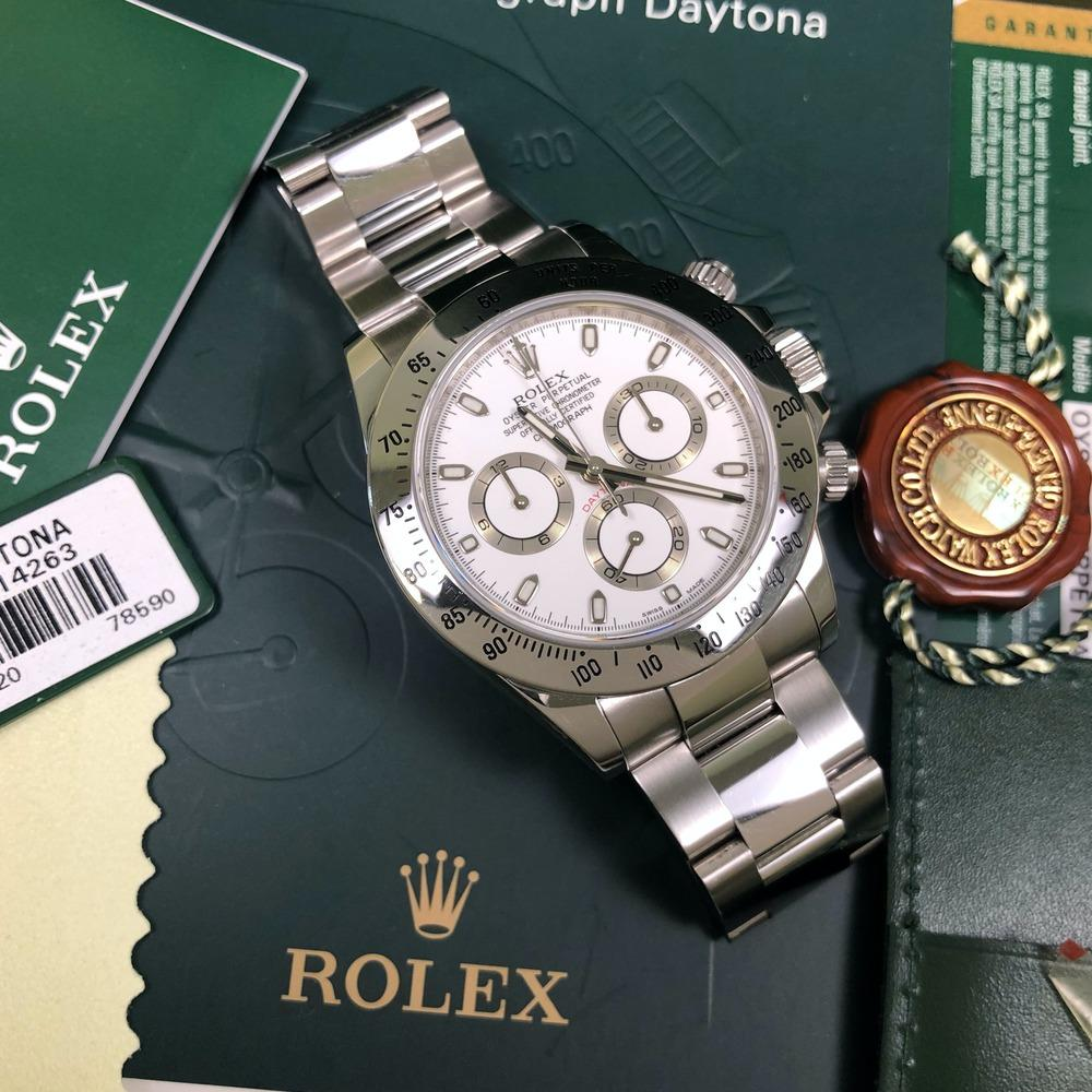 Rolex Daytona 116520 •APH DIAL• (2010 - V Serial) - Swiss Watch Trader
